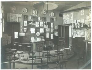 Salle de dessin - Début du siècle